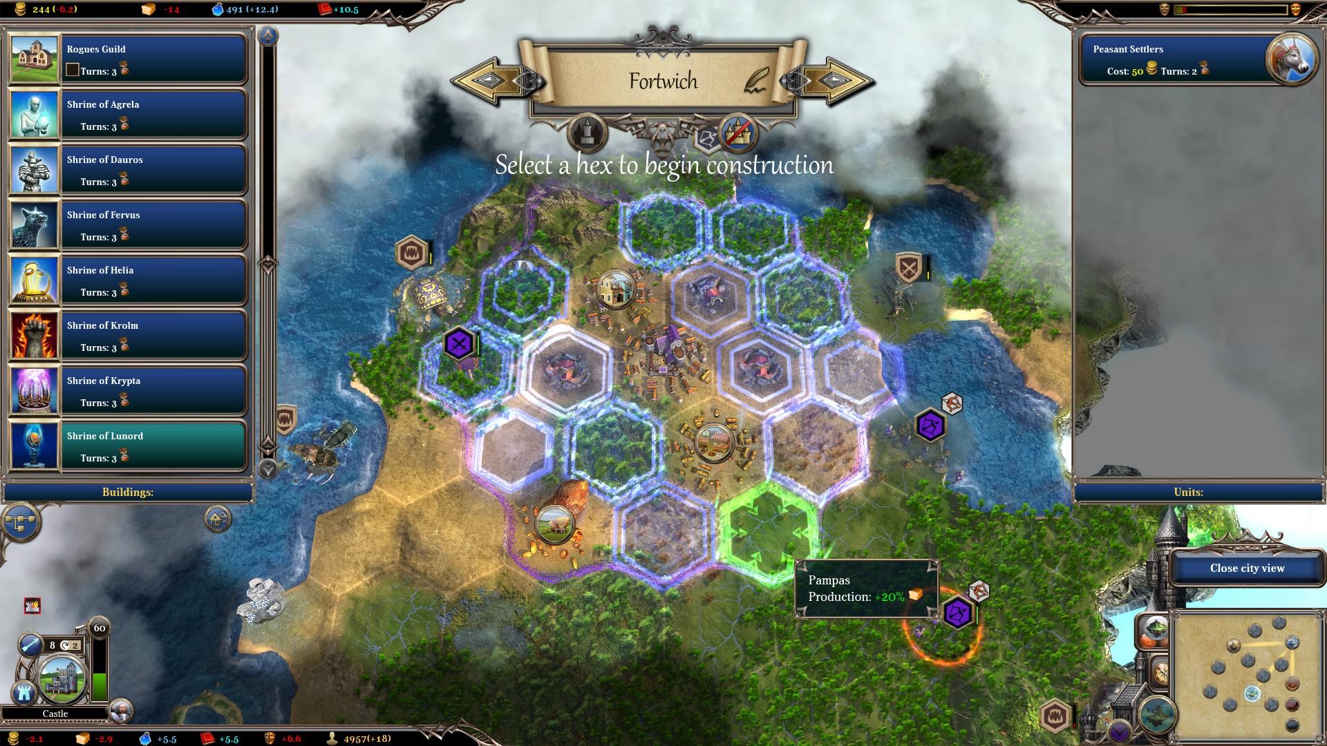 Warlock 2: The Exiled screenshot