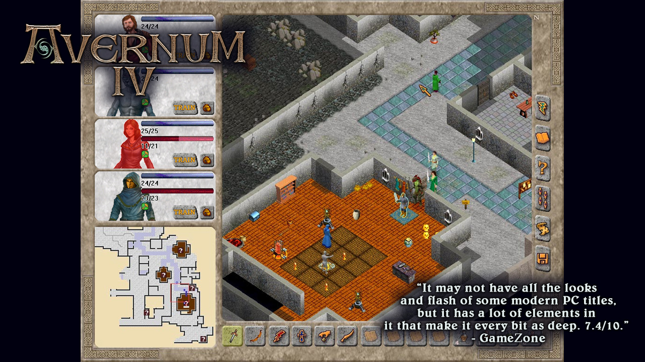 Avernum 4 screenshot