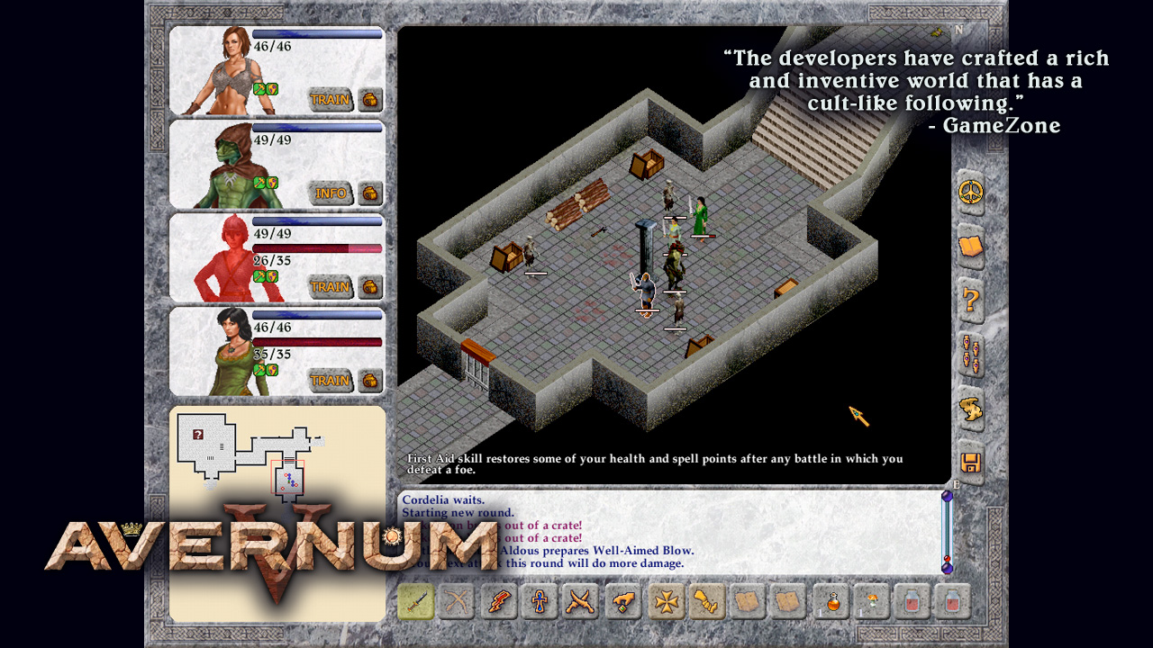 Avernum 5 screenshot