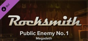 Rocksmith - Megadeth - Public Enemy No. 1