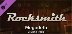 Rocksmith - Megadeth 3-Song Pack