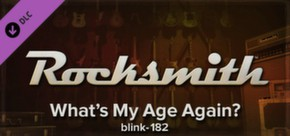 Rocksmith - blink-182 - What's My Age Again?