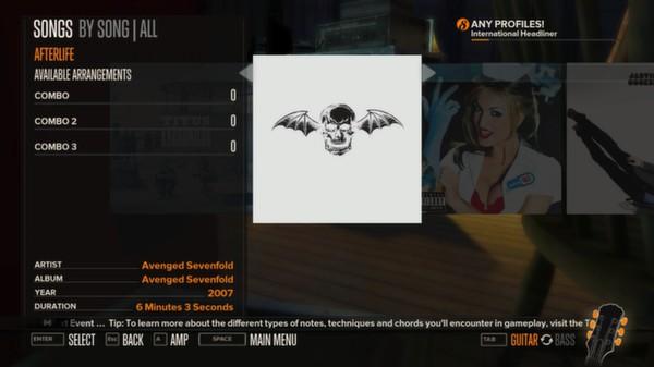 Rocksmith DLC – Avenged Sevenfold Song Pack Ss_6476b0e2b6dd9fb74779bd25634c576f3a03d7b2.600x338