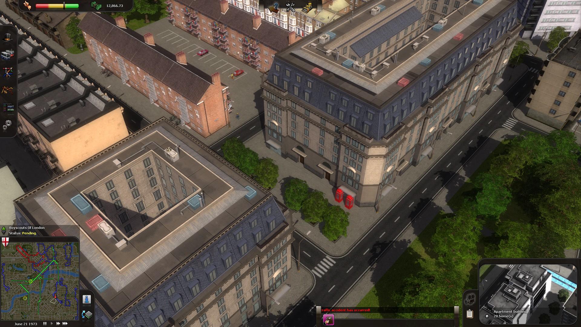 Cities in Motion: London screenshot