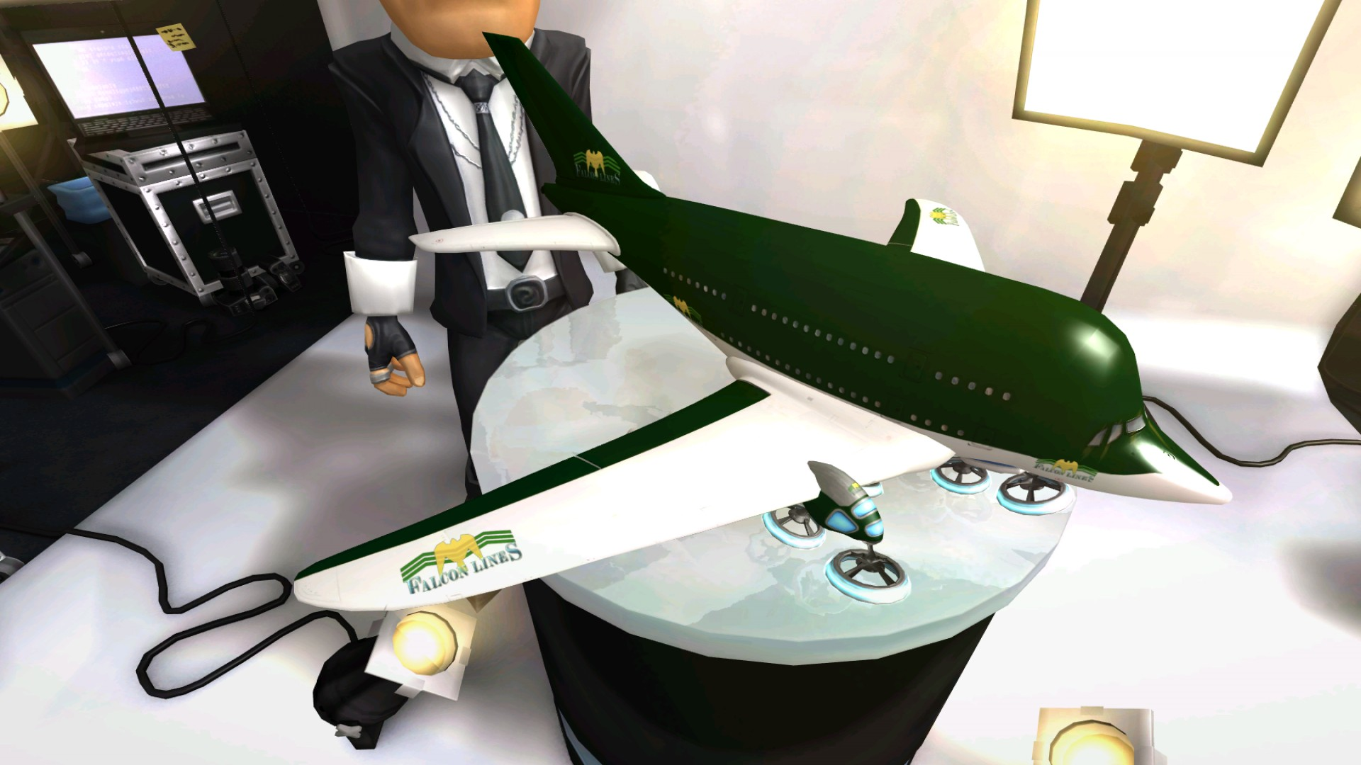 Airline Tycoon 2: Falcon Airlines DLC screenshot