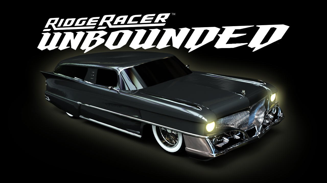Ridge Racer Unbounded - Ridge Racer 1 Machine and the Hearse Pack screenshot