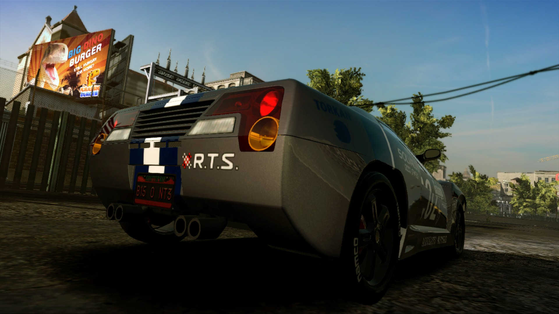 Ridge Racer Unbounded - Ridge Racer Type 4 Machine and  El Mariachi Pack screenshot