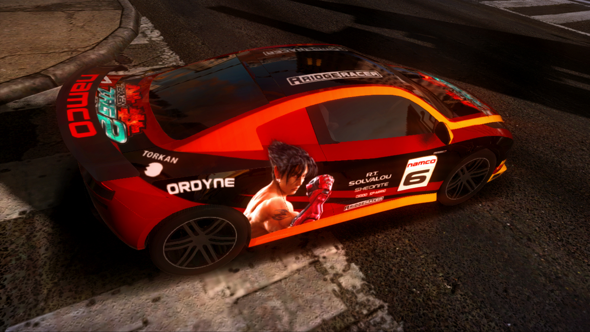 Ridge Racer Unbounded - Extended Pack: 3 Vehicles + 5 Paint Jobs screenshot