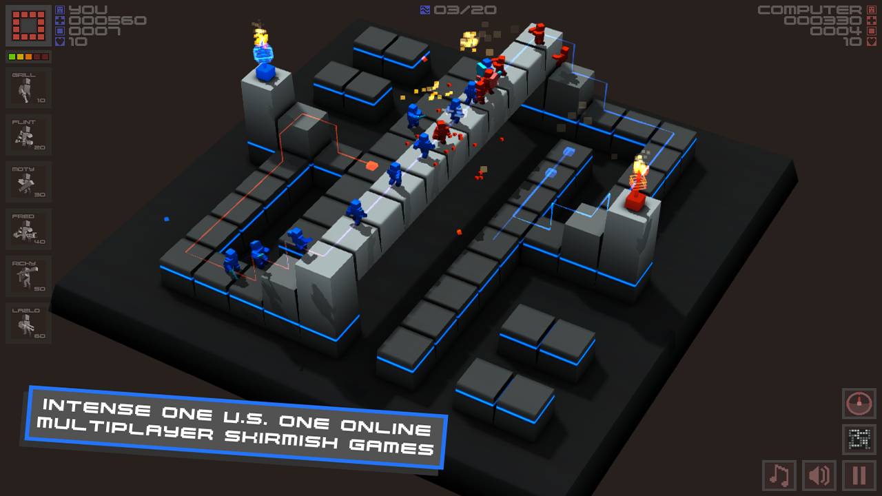 Cubemen screenshot