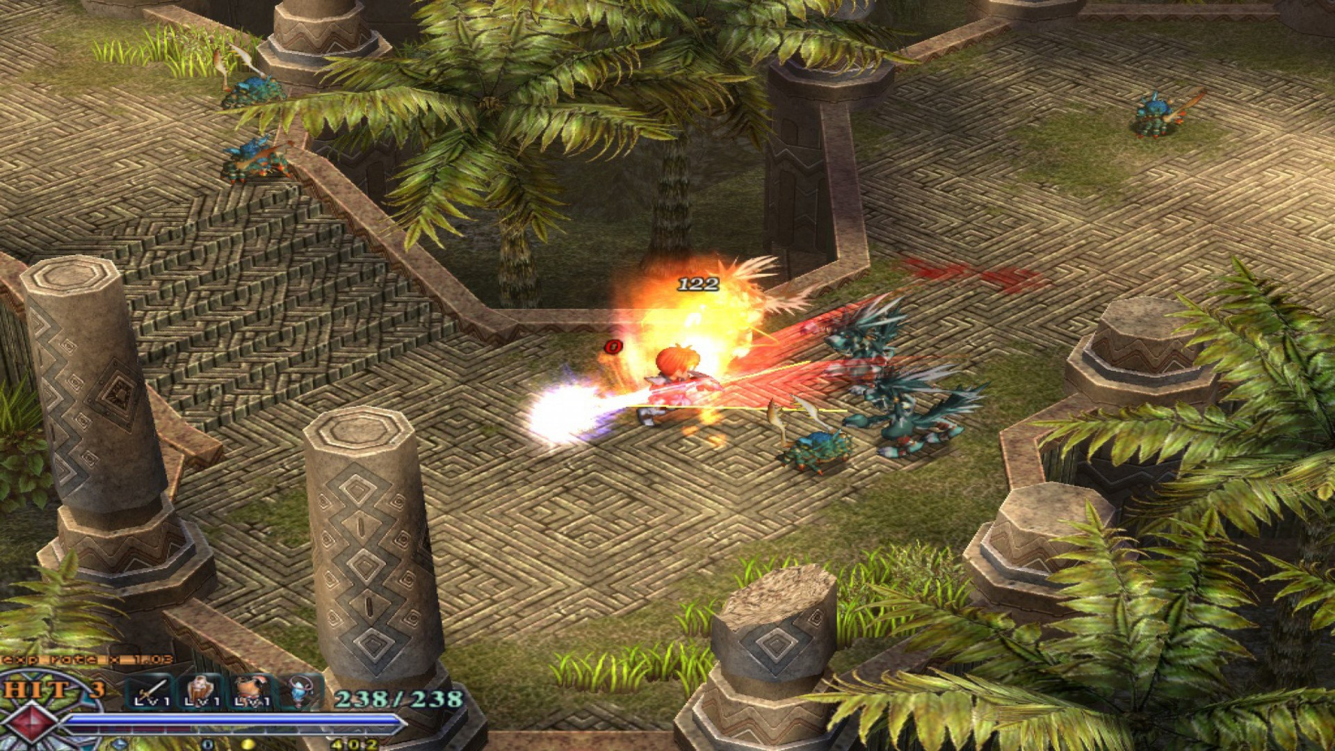 Ys: The Oath in Felghana screenshot 1