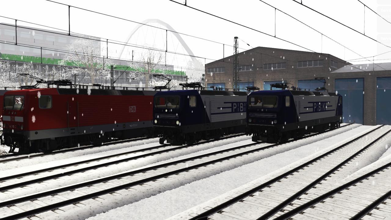 Train Simulator: DB BR143 Loco Add-On screenshot