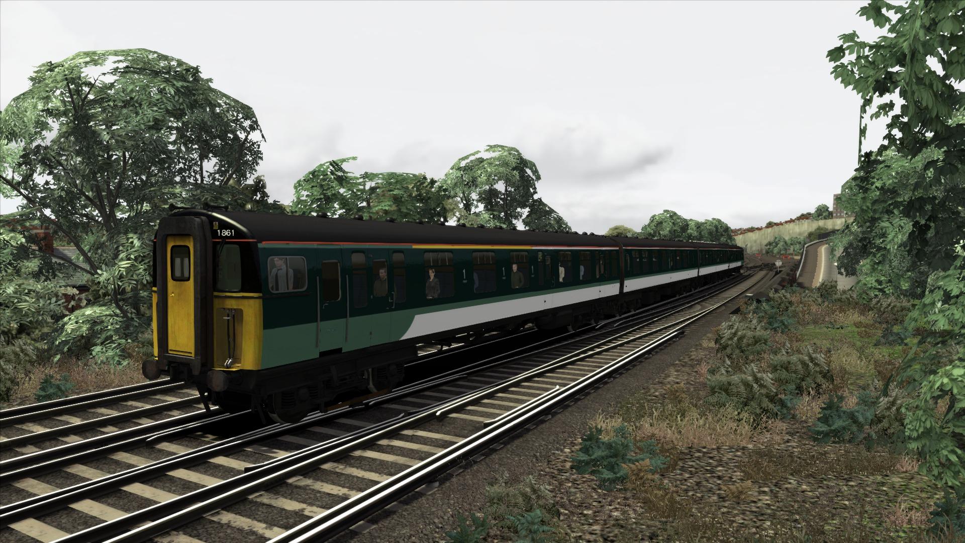 Train Simulator: Southern Class 421 '4CIG' EMU Add-On screenshot
