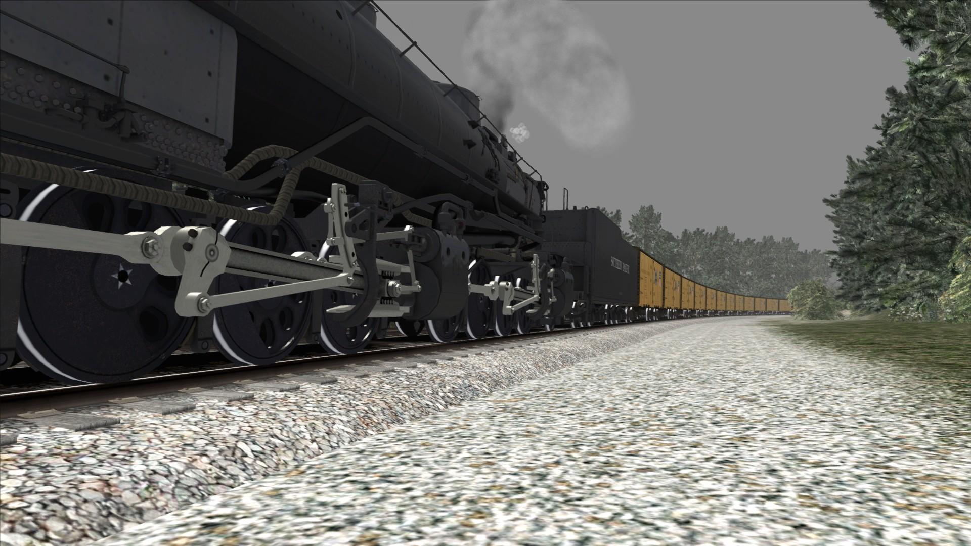 Train Simulator: Southern Pacific Cab Forward Loco Add-On screenshot