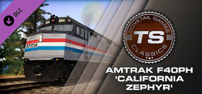 Train Simulator: Amtrak F40PH 'California Zephyr' Loco Add-On