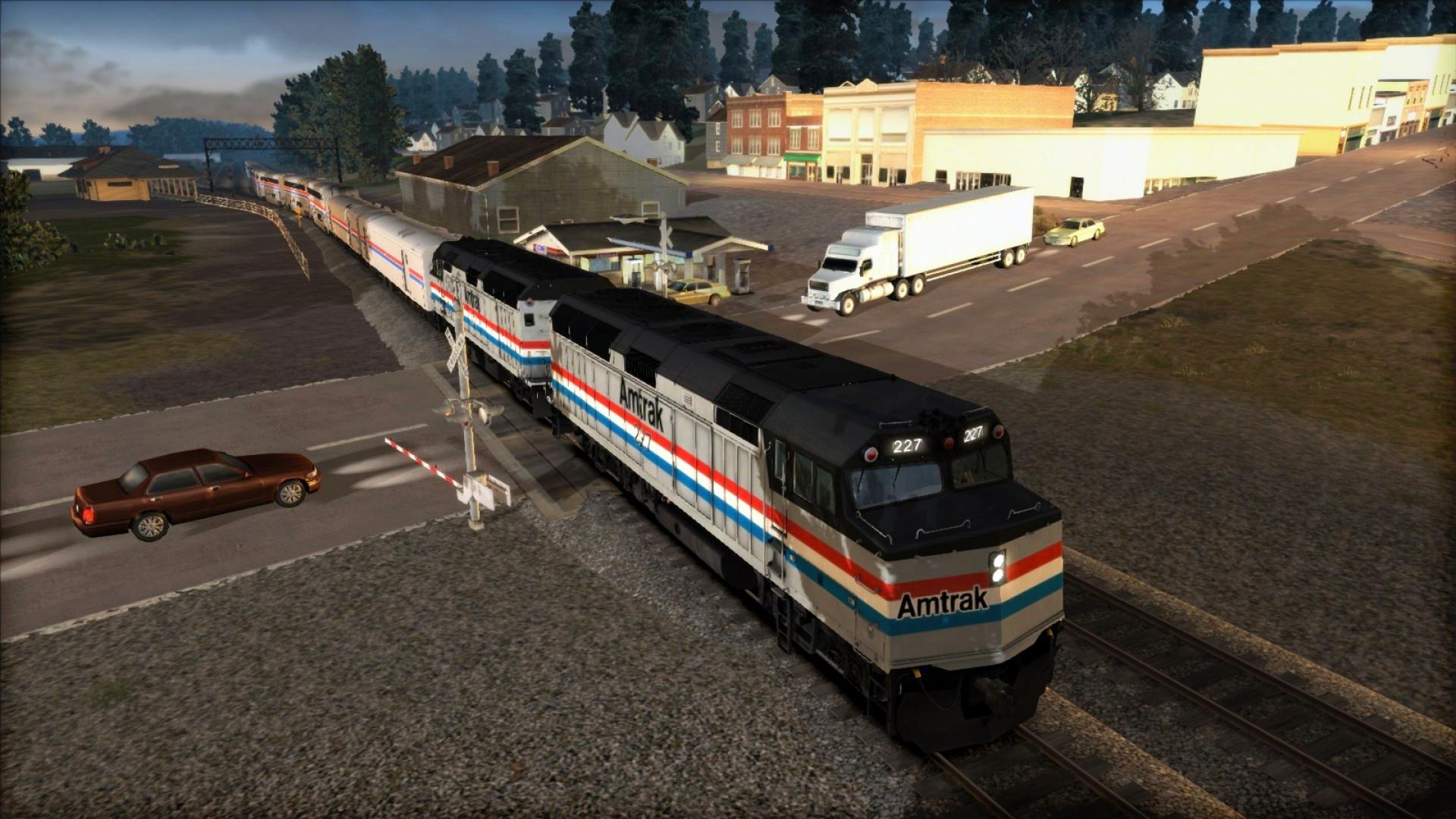 Train Simulator: Amtrak F40PH 'California Zephyr' Loco Add-On screenshot