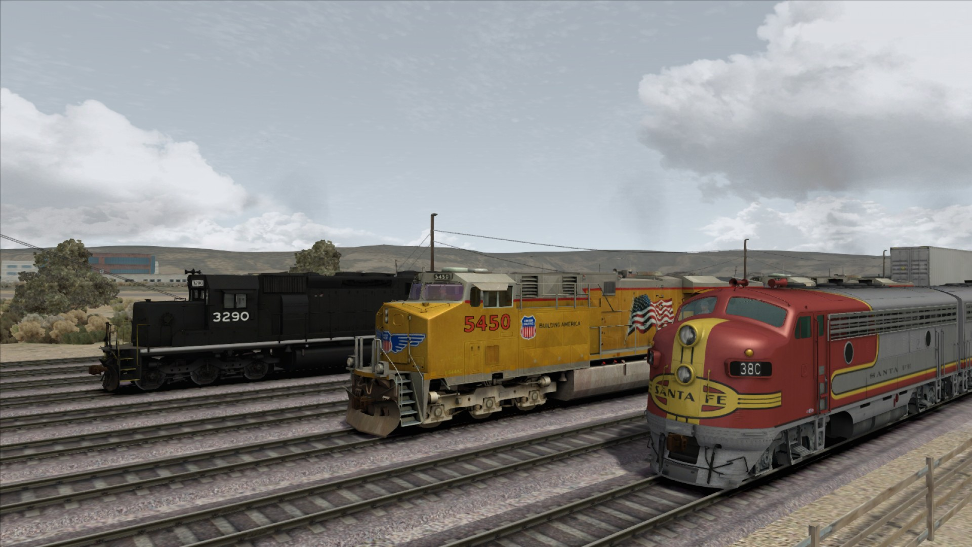 Train Simulator: US Loco & Asset Pack screenshot