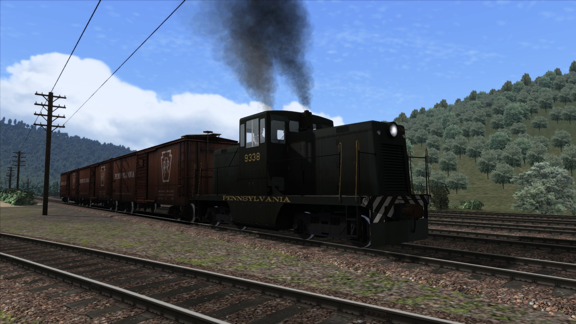 Train Simulator: PRR GE 44 Loco Add-On screenshot