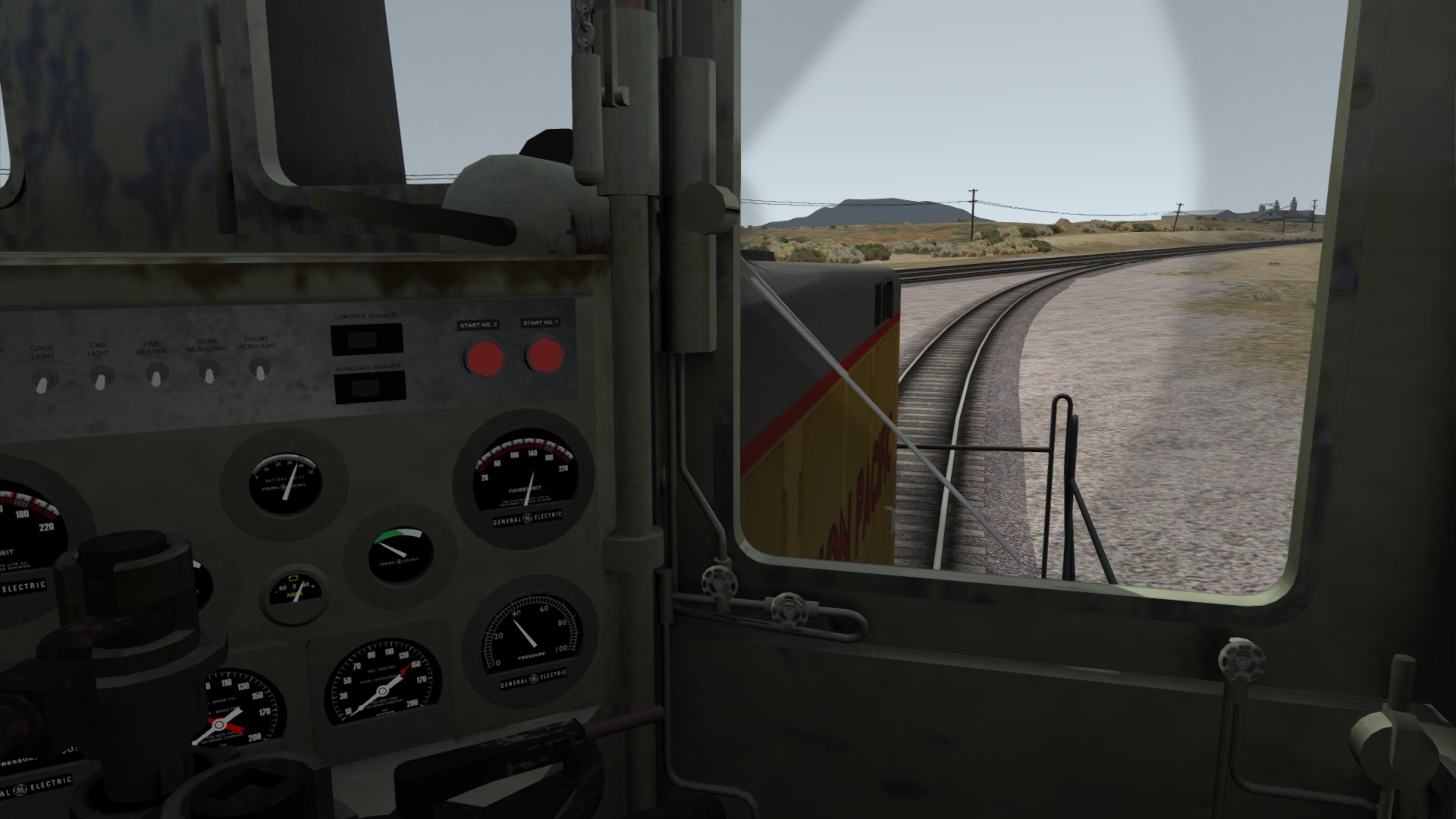 Train Simulator: UP GE 44 Loco Add-On screenshot