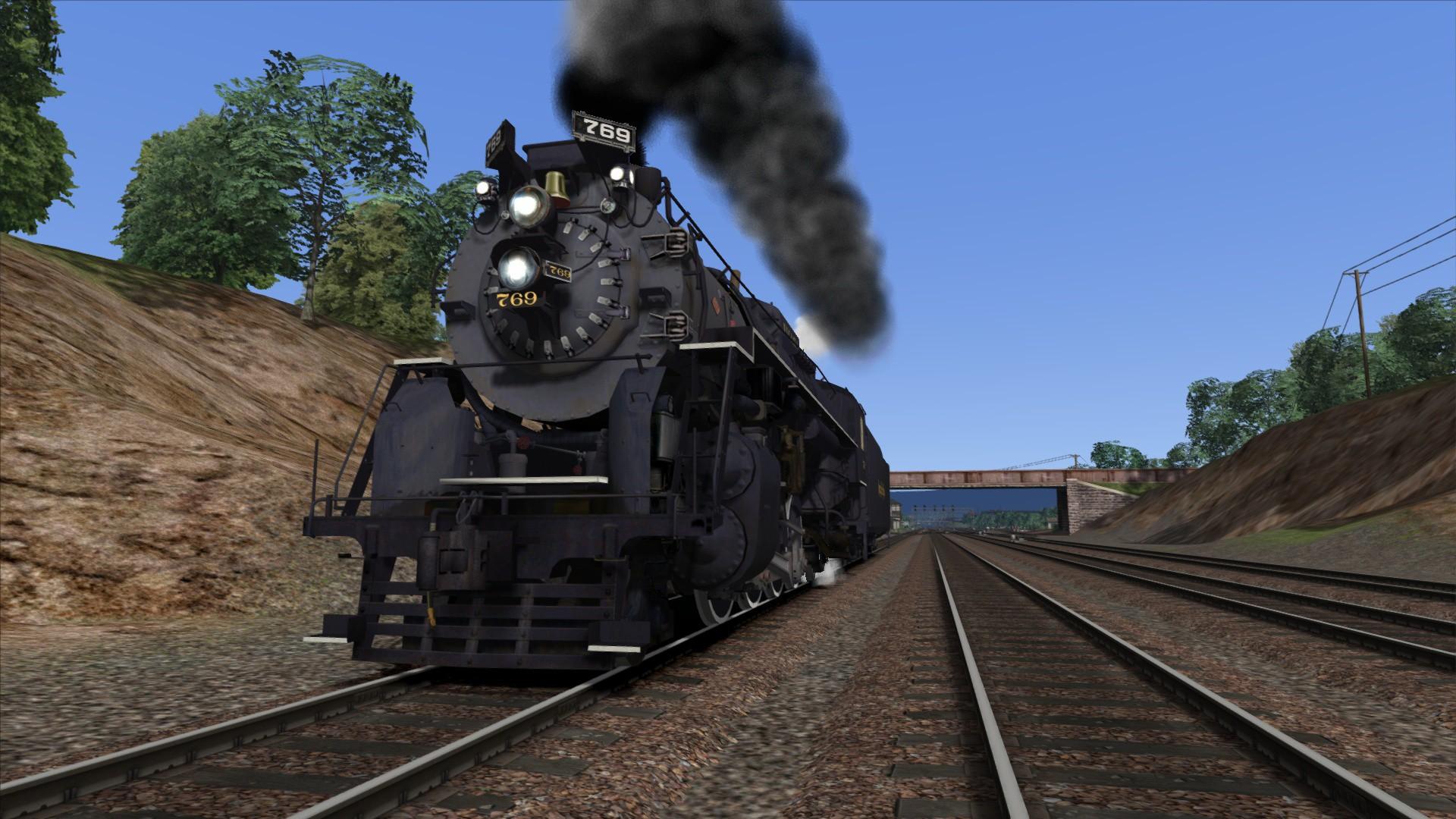 Train Simulator: NKP S-2 Class 'Berkshire' Loco Add-On screenshot
