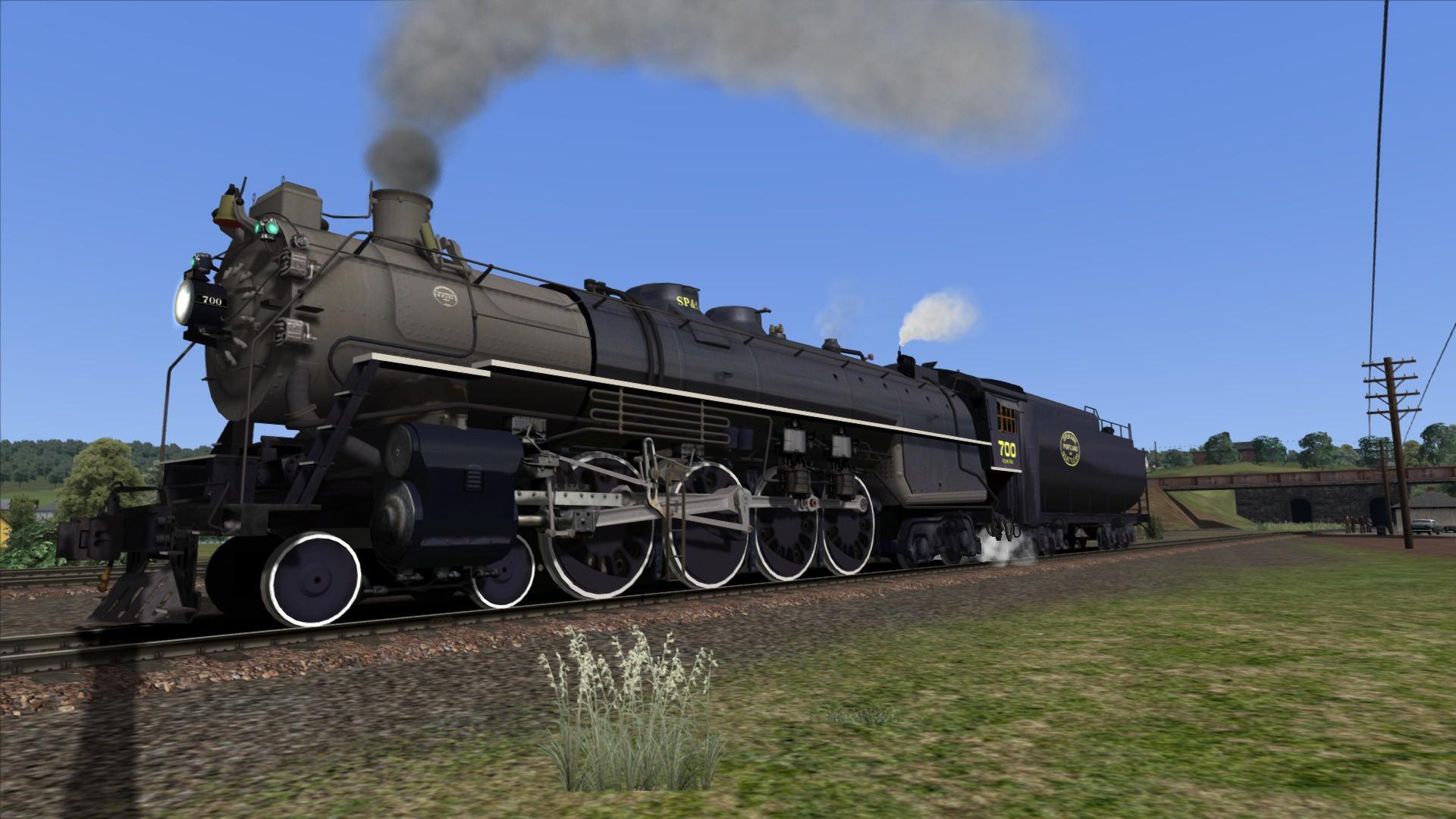 Train Simulator: SP&S E-1 Class 'Northern' Loco Add-On screenshot