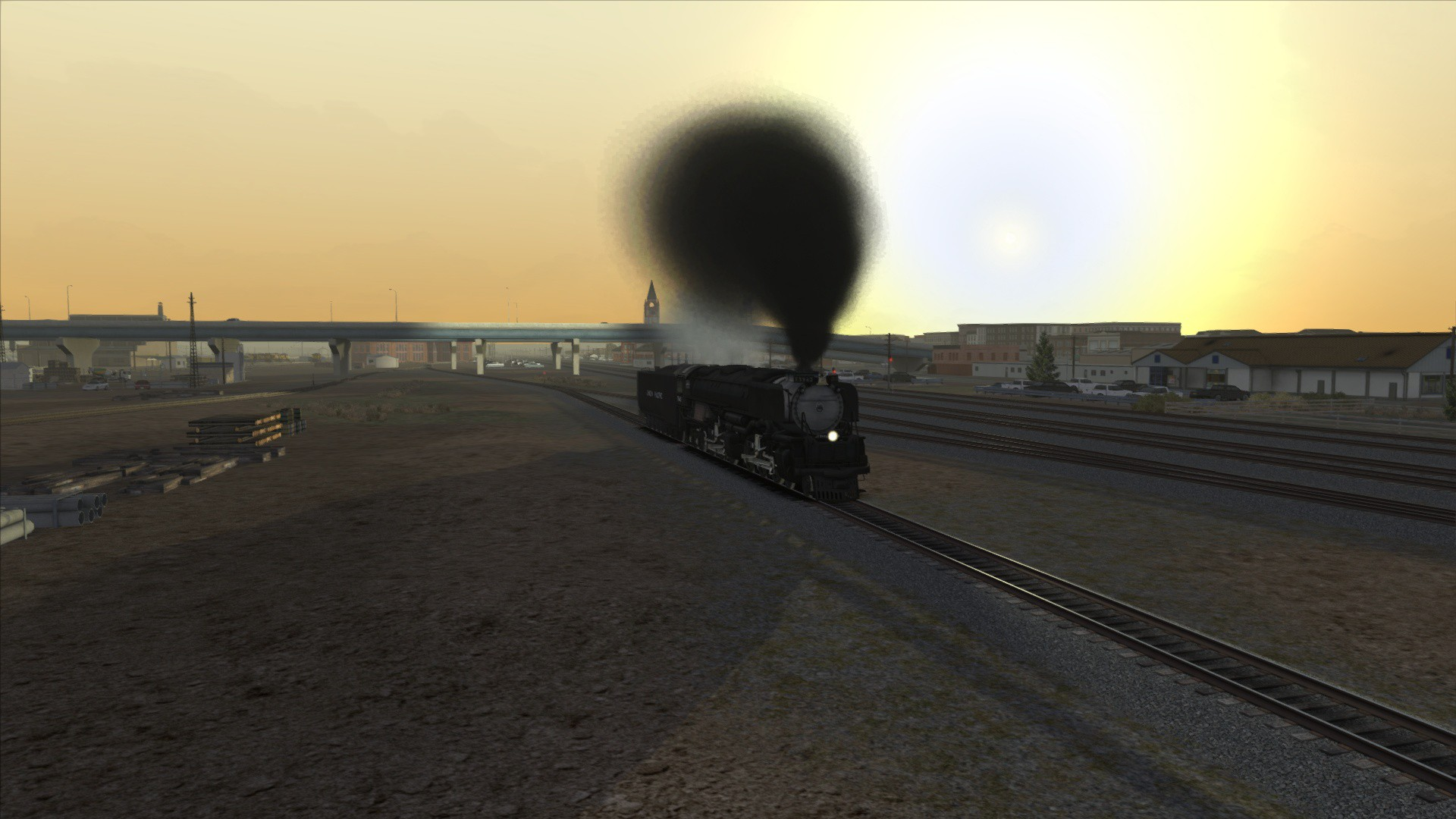 Train Simulator: Union Pacific Challenger Loco Add-On screenshot