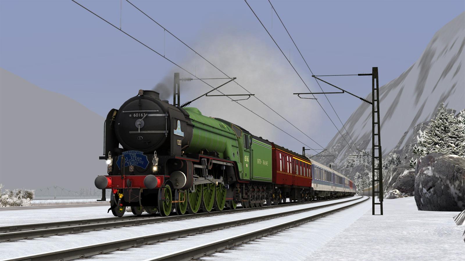 Train Simulator: LNER/BR Class A1 'Tornado' Loco Add-On screenshot