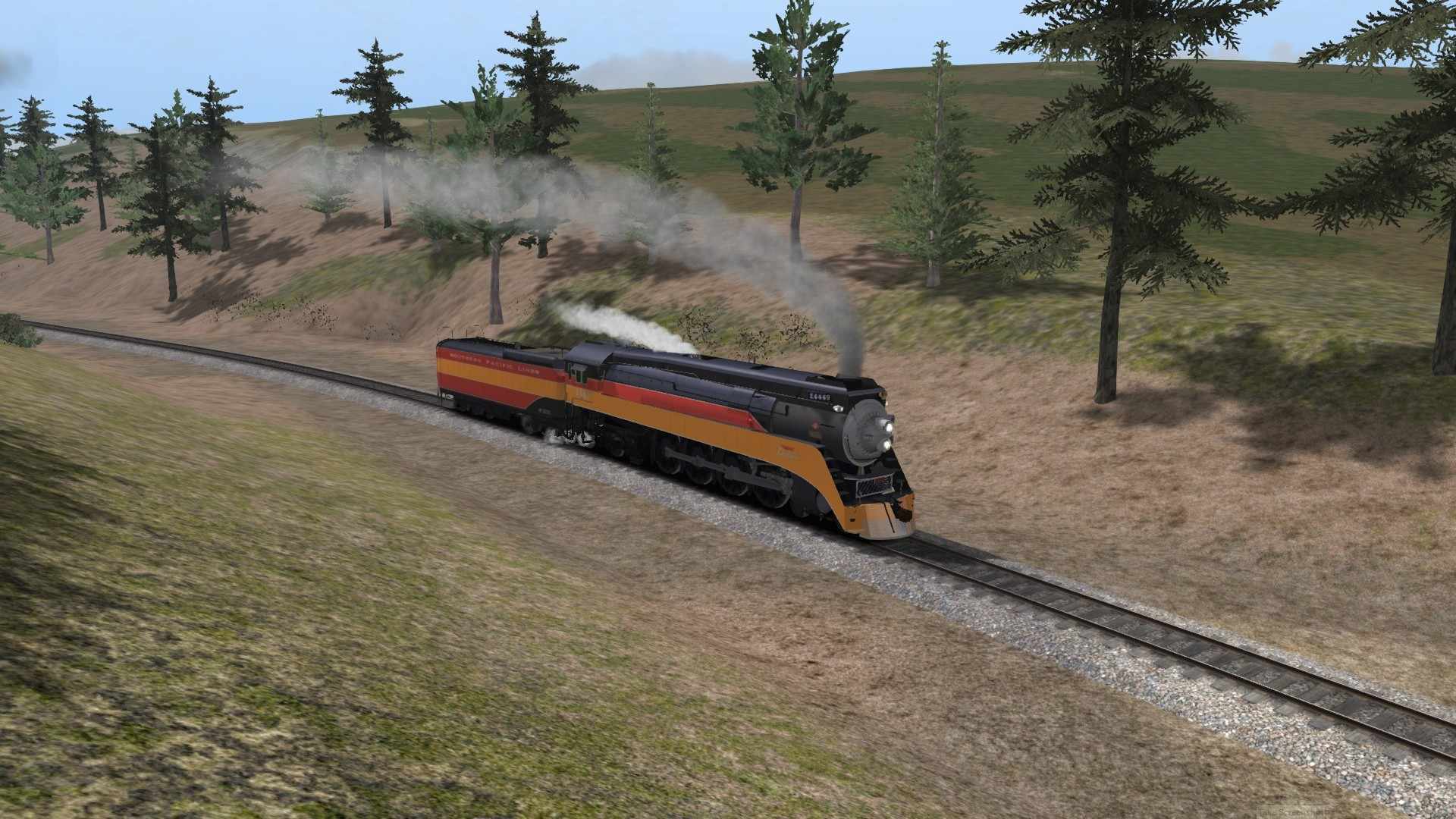 Train Simulator: Southern Pacific GS-4 Loco Add-On screenshot