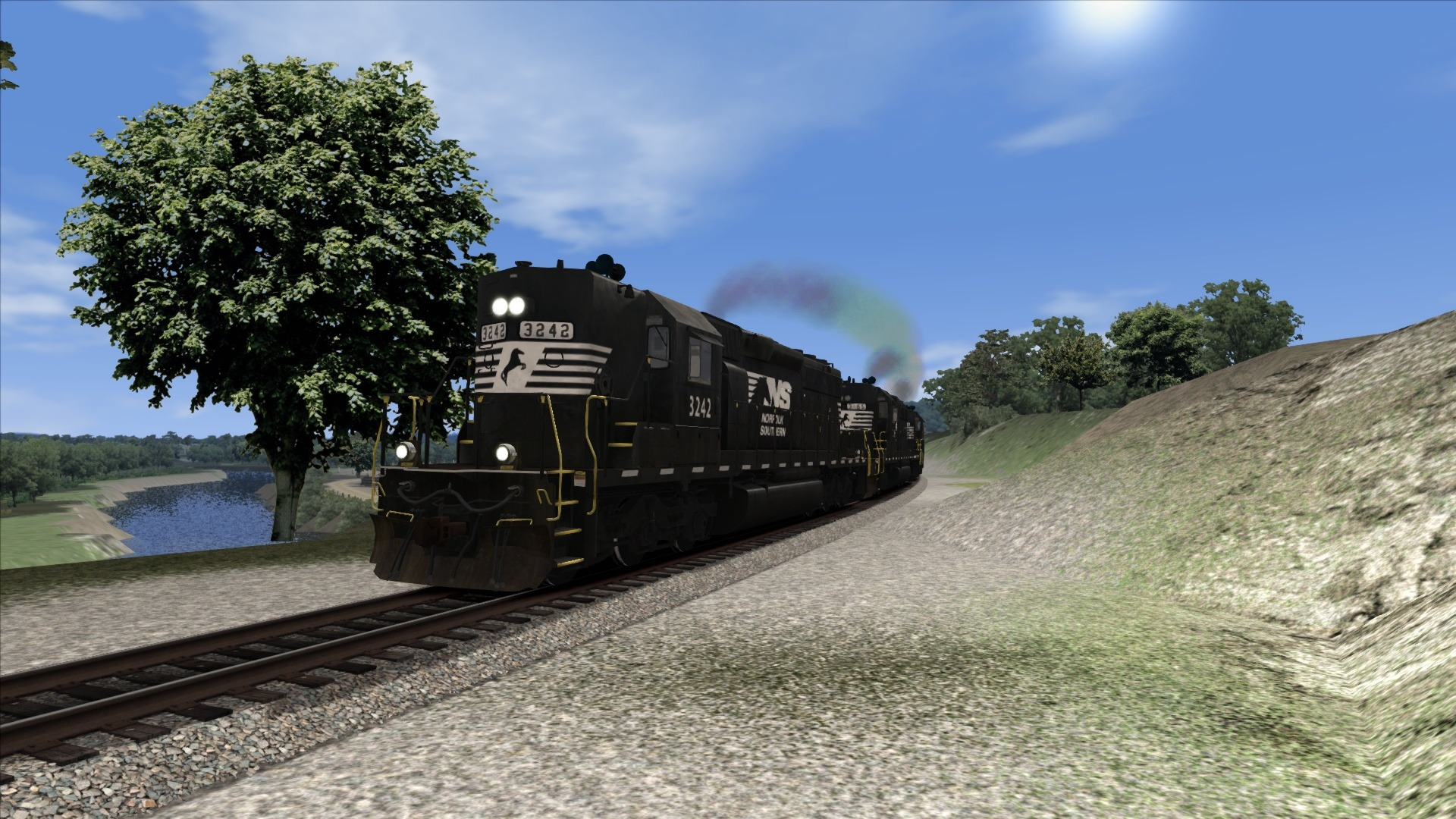 Train Simulator: Norfolk Southern SD40-2 High Nose Loco Add-On screenshot