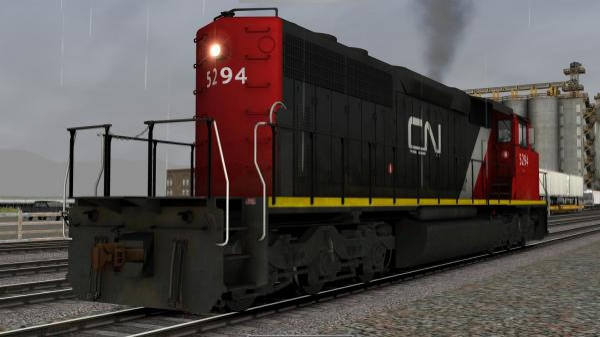 Train Simulator: CN SD40-2 Wide Nose Loco Add-On screenshot