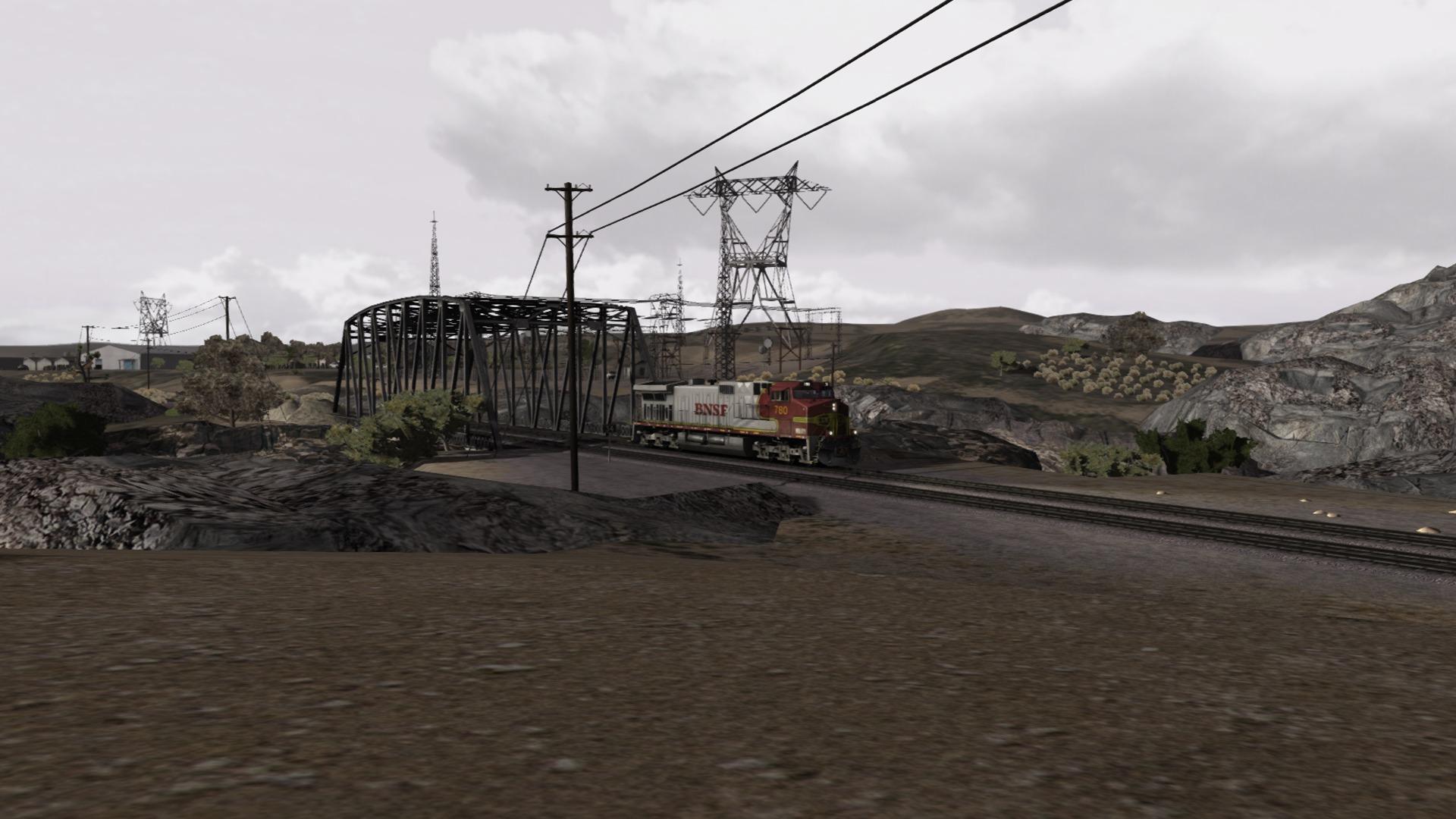 Train Simulator: BNSF Dash 9 Loco Add-On screenshot