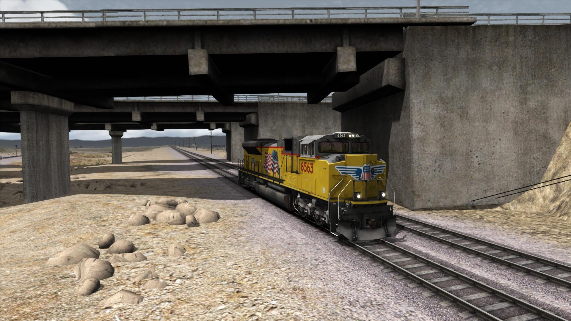 Train Simulator: Union Pacific SD70Ace Loco Add-On screenshot