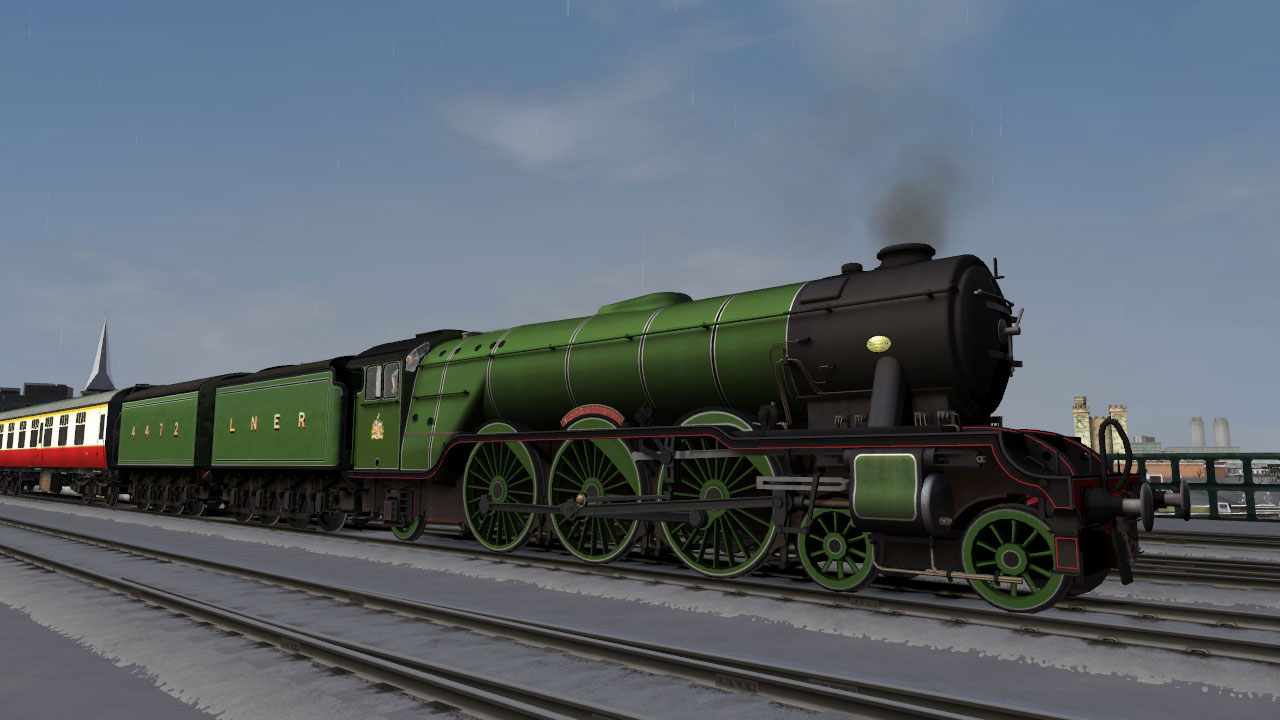 Train Simulator: LNER Class A3 'Flying Scotsman' Loco Add-On screenshot