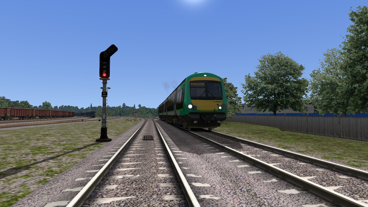 Train Simulator: BR Class 170 'Turbostar' DMU Add-On screenshot