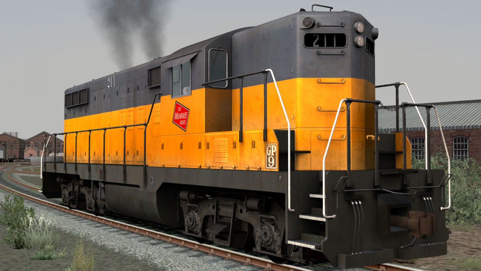 Train Simulator: GP9 Loco Add-On screenshot