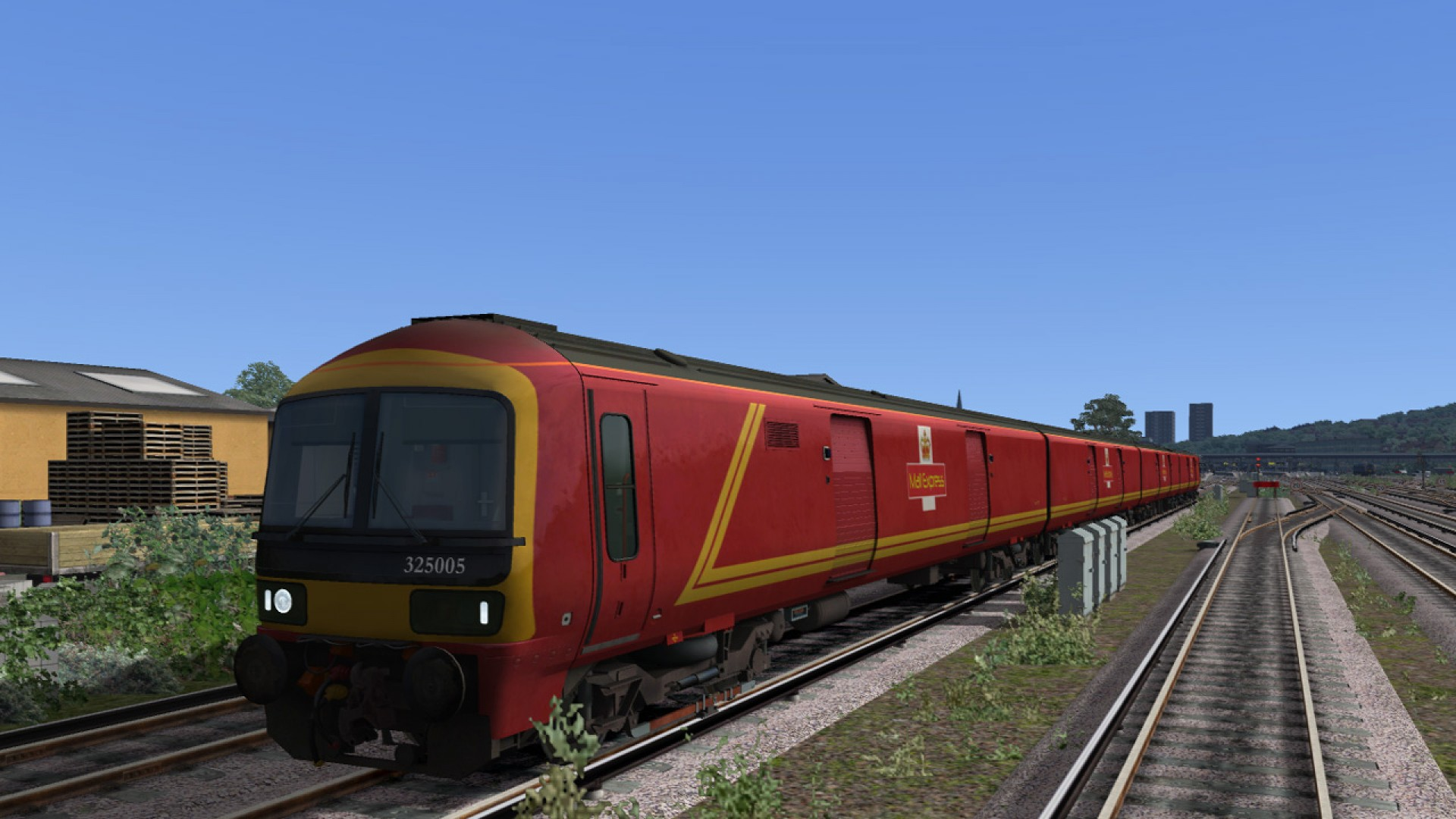 Train Simulator: Class 325 EMU Add-On screenshot