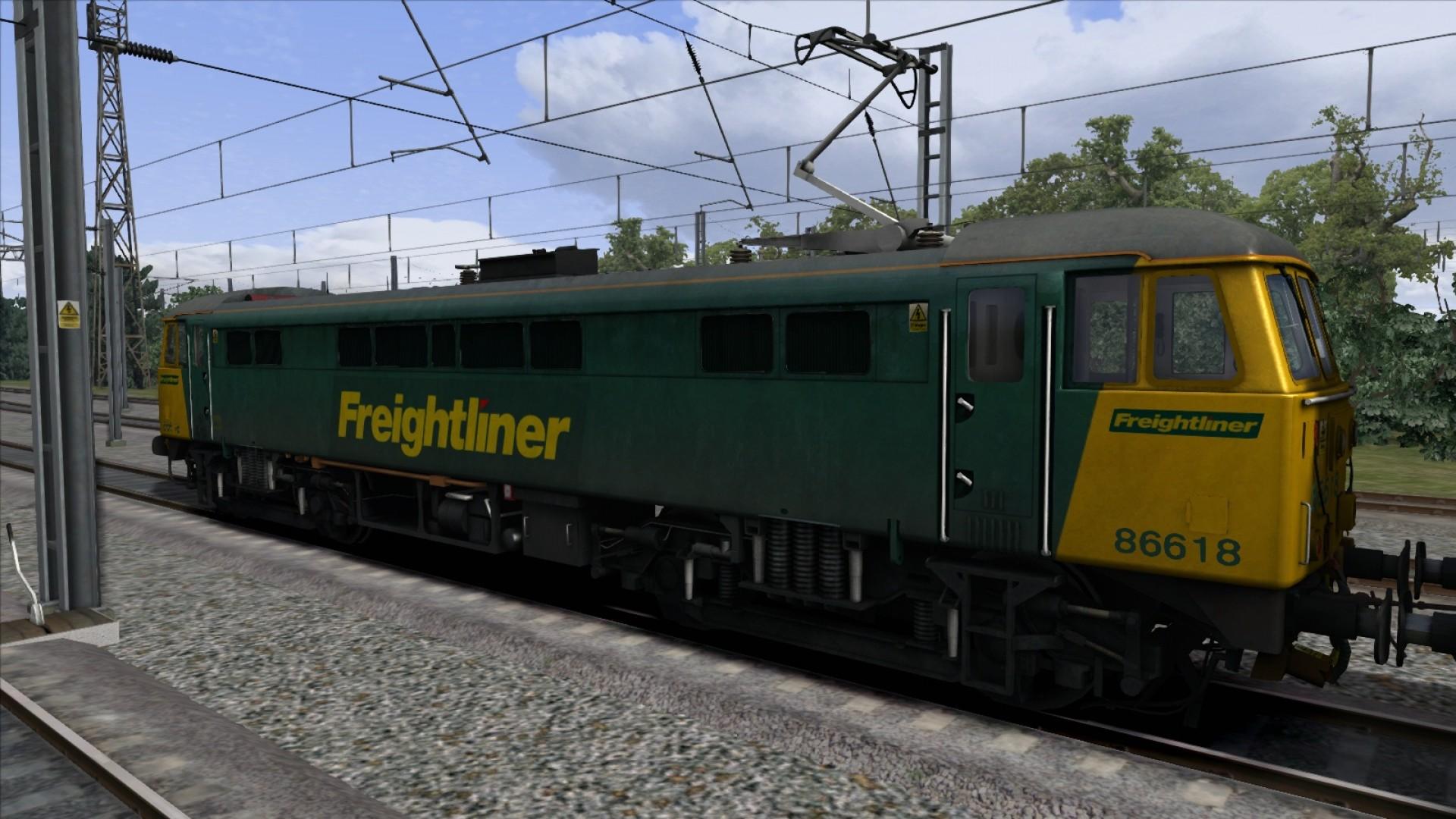 Train Simulator: Class 86 Loco Add-On screenshot