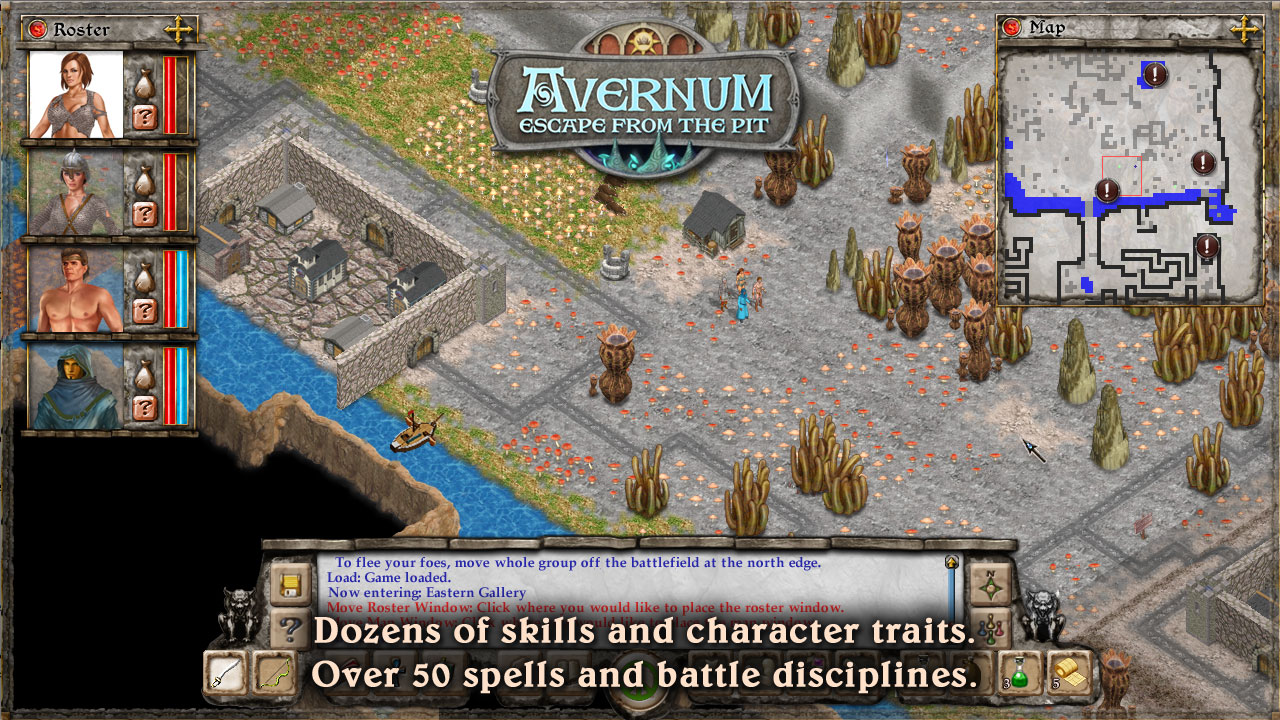 Avernum: Escape From the Pit screenshot