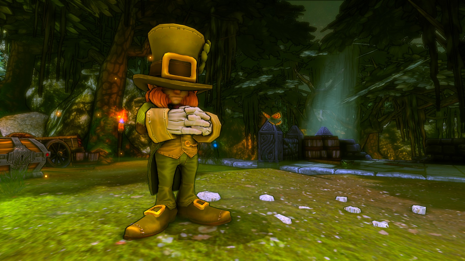 Dungeon Defenders Lucky Costume Pack screenshot