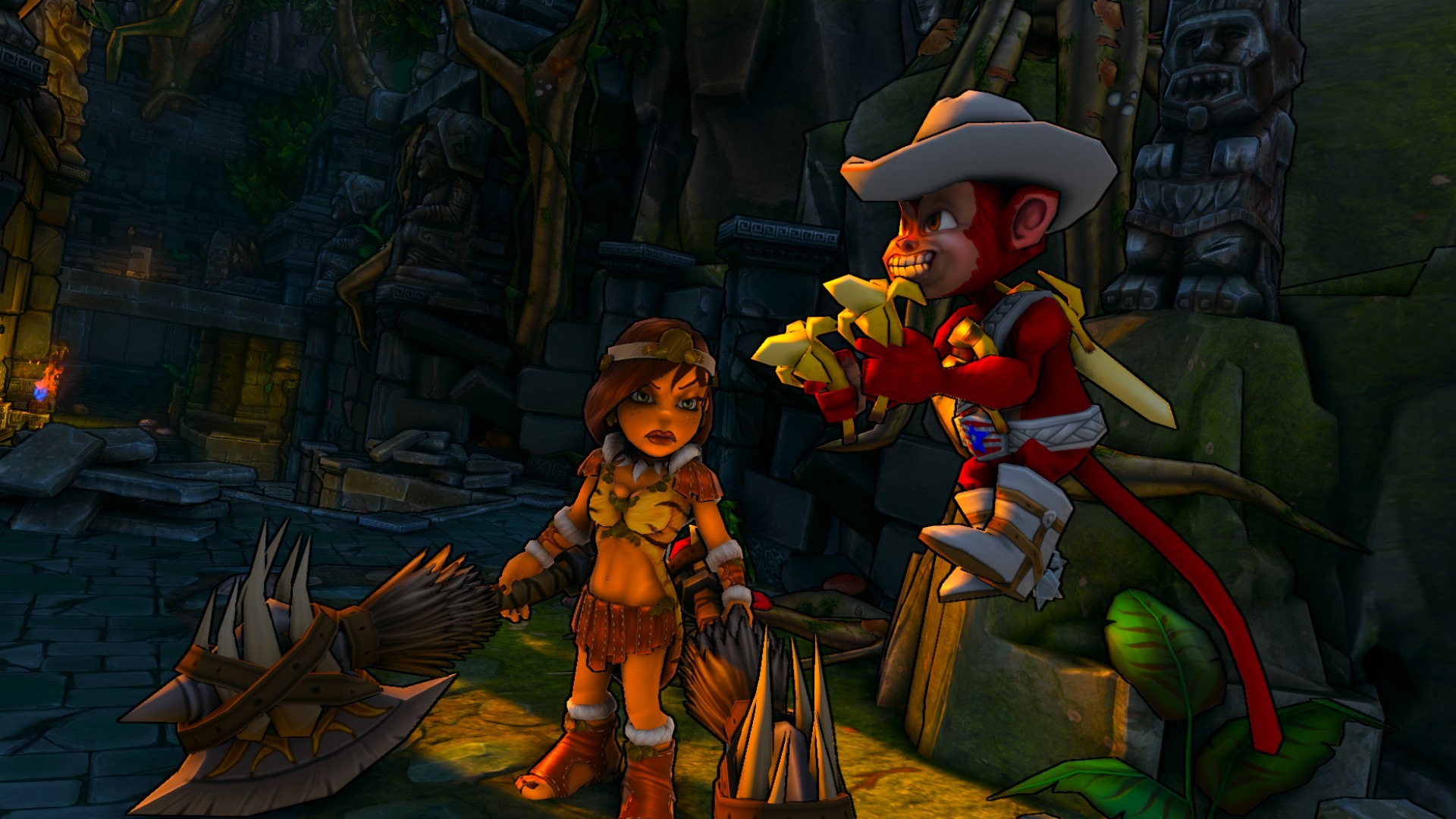 Dungeon Defenders - Karathiki Jungle Mission Pack screenshot