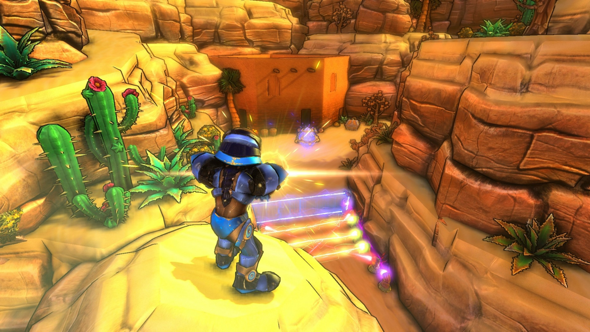 Dungeon Defenders: City in the Cliffs Mission Pack screenshot
