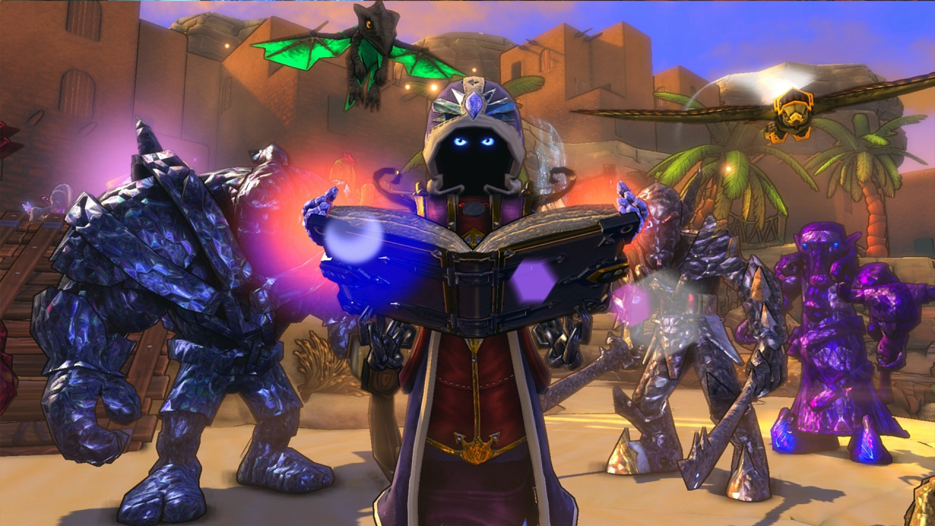 Dungeon Defenders: Summoner Hero DLC screenshot