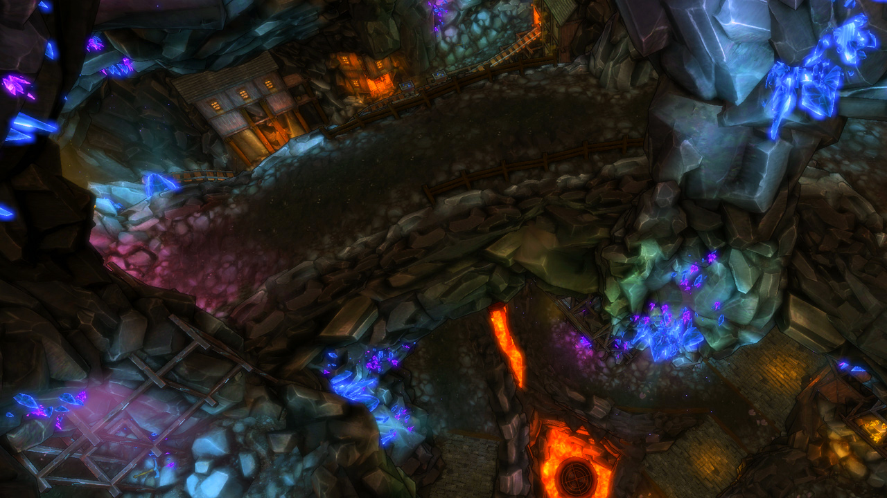 Dungeon Defenders: Talay Mining Complex Mission Pack screenshot