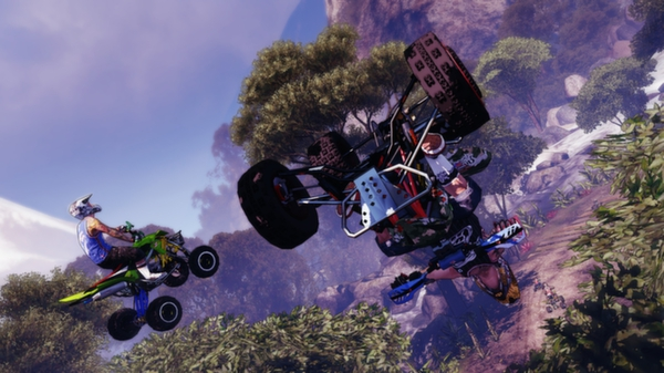 скриншот Mad Riders 5