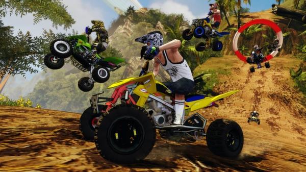 скриншот Mad Riders 4
