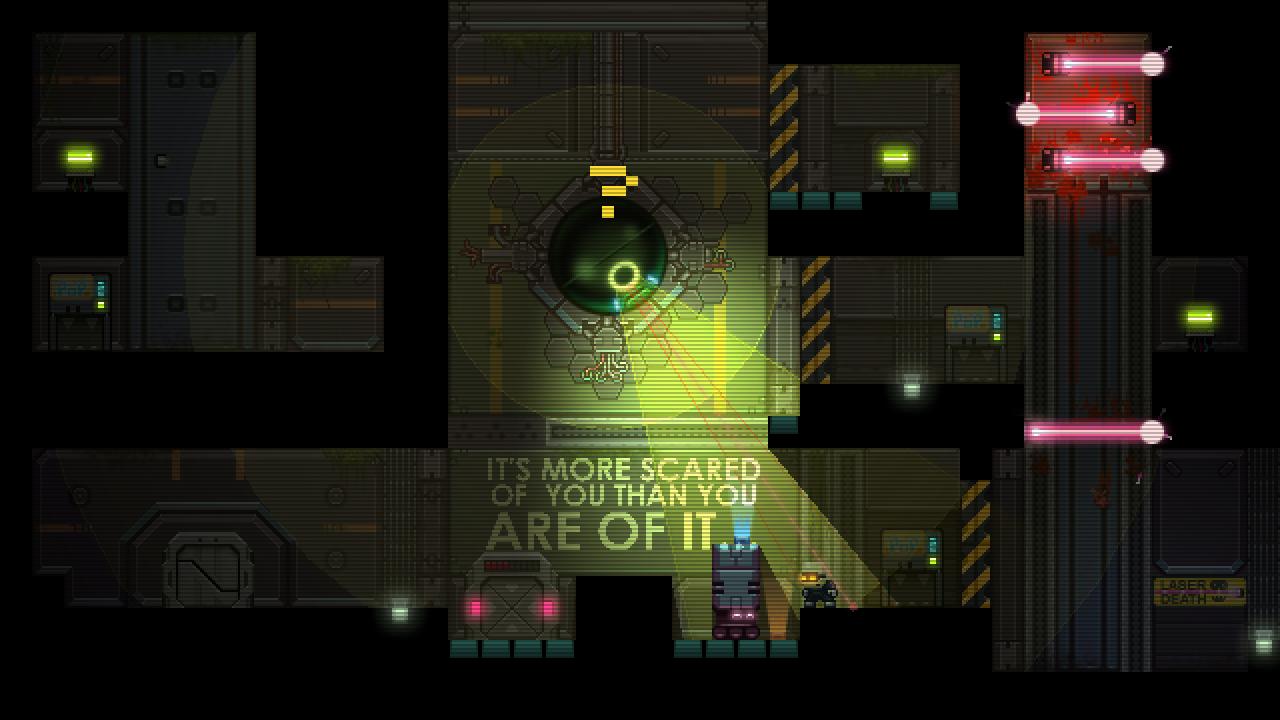 Stealth Bastard Deluxe - The Teleporter Chambers screenshot