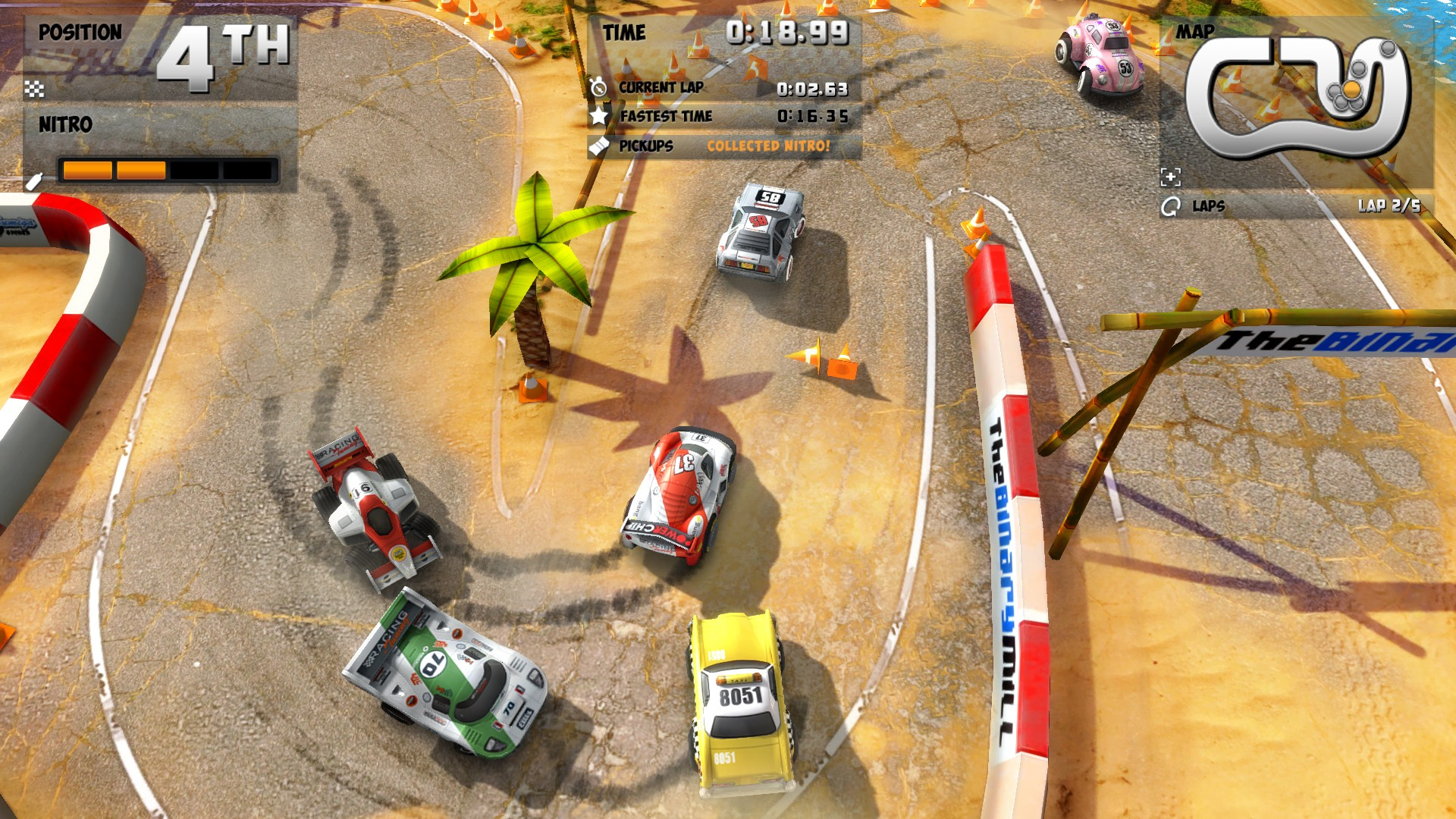 Mini Motor Racing EVO screenshot