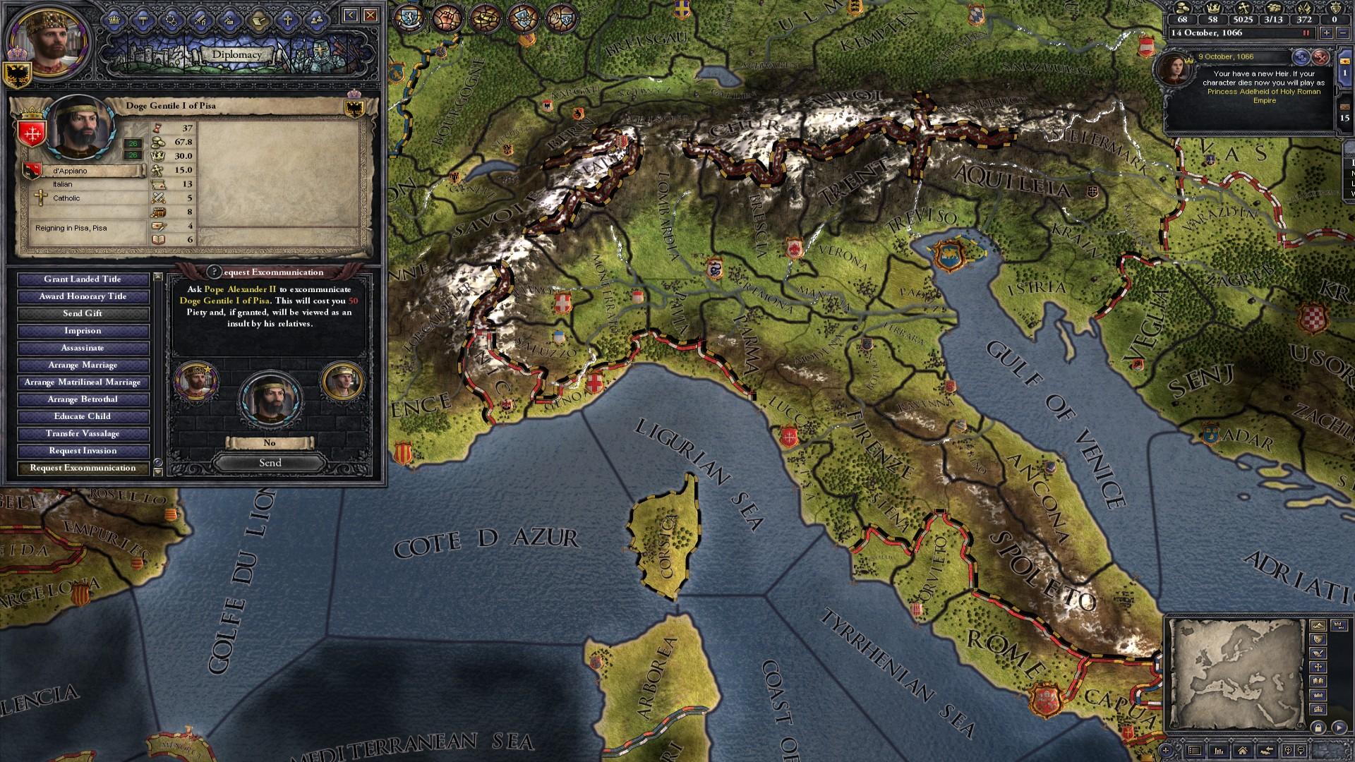 Crusader Kings II: Songs of the Caliph screenshot