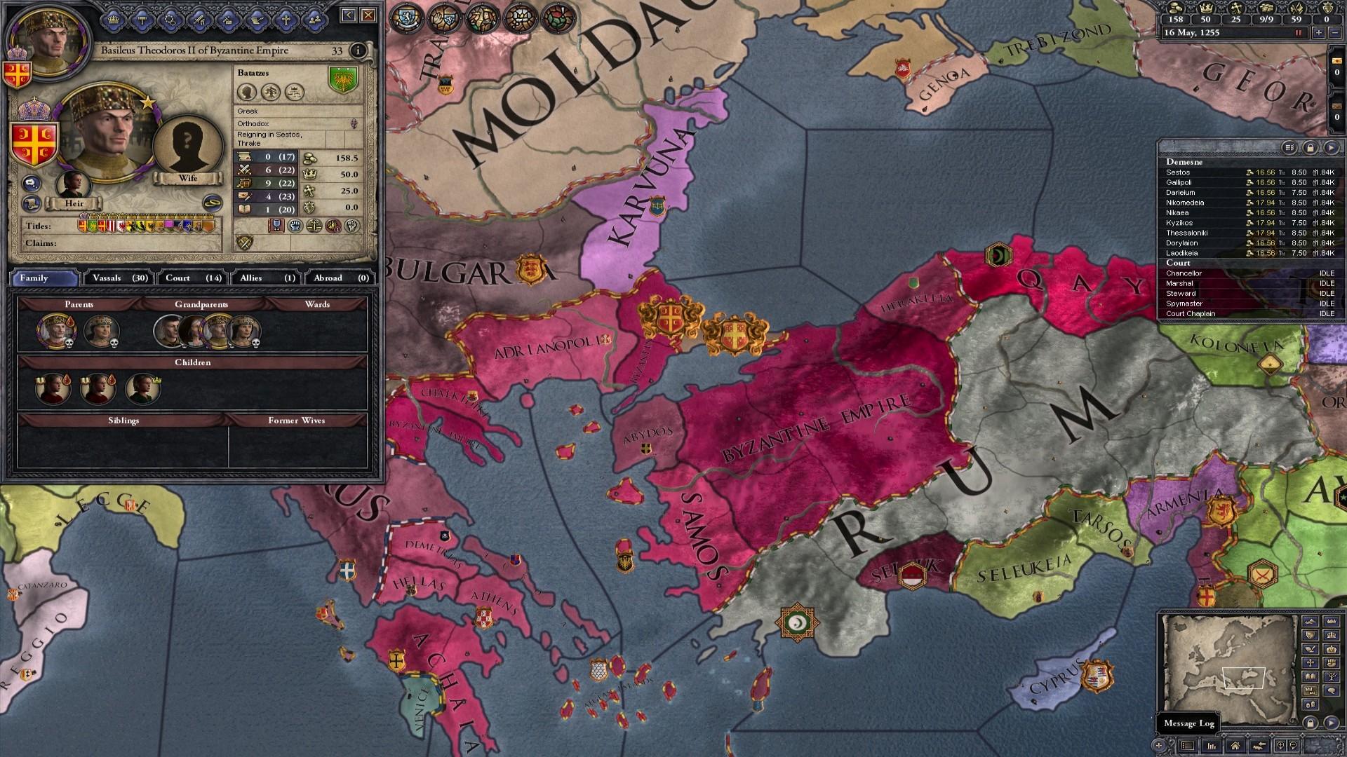 Crusader Kings II: Dynasty Shield II screenshot
