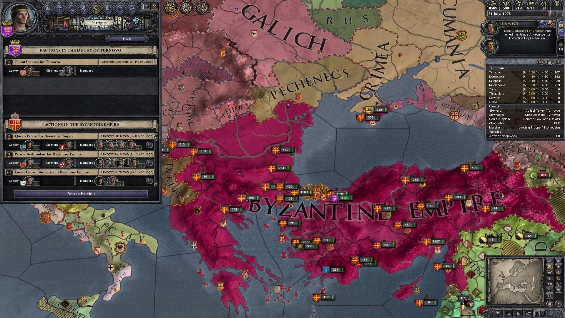Expansion - Crusader Kings II: Legacy of Rome screenshot