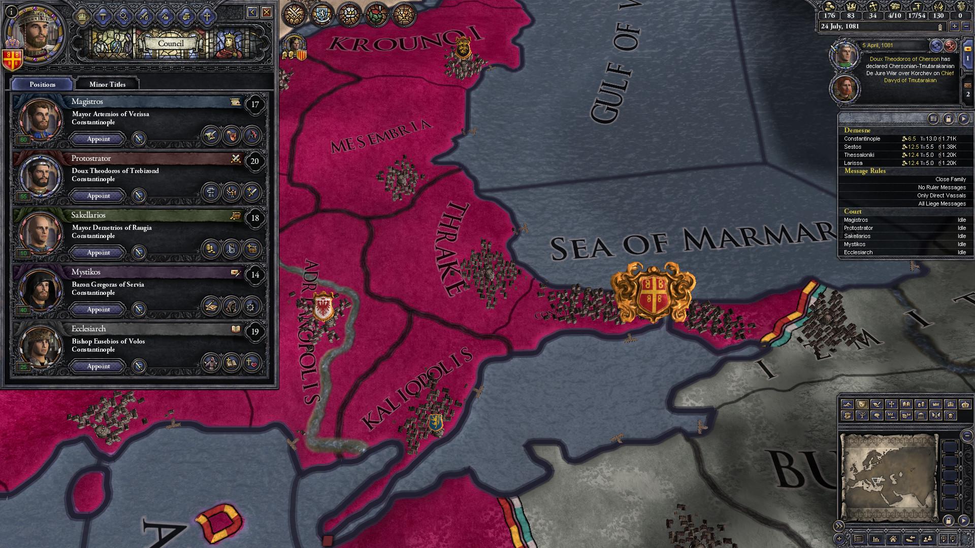 Crusader Kings II: Mediterranean Portraits screenshot